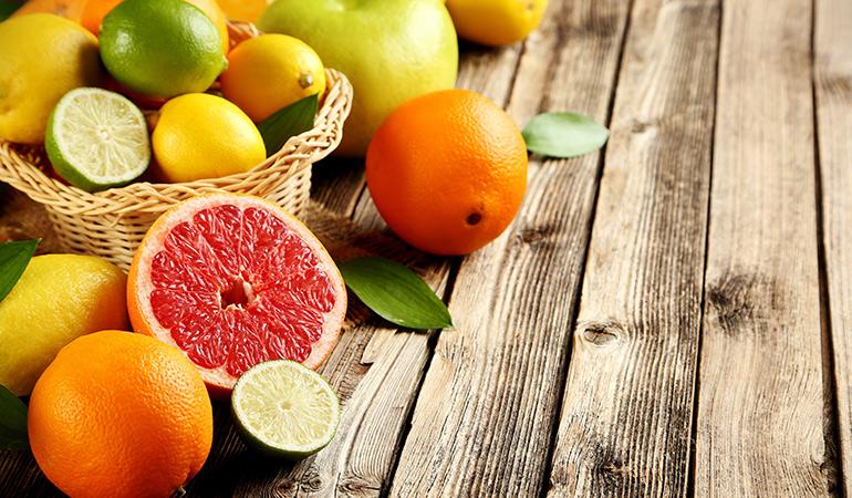 Oranges, 1 cup: 95.8 mg (106.4% DV)