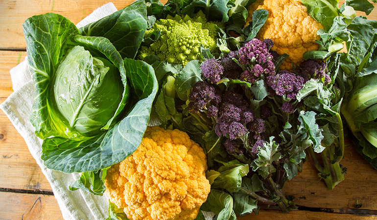 1 cup of broccoli: 101.2 mg of vitamin C (112.4% DV)
