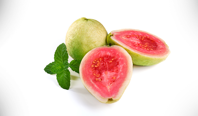 1 cup of guava: 376.7 mg of vitamin C (418.6% DV)