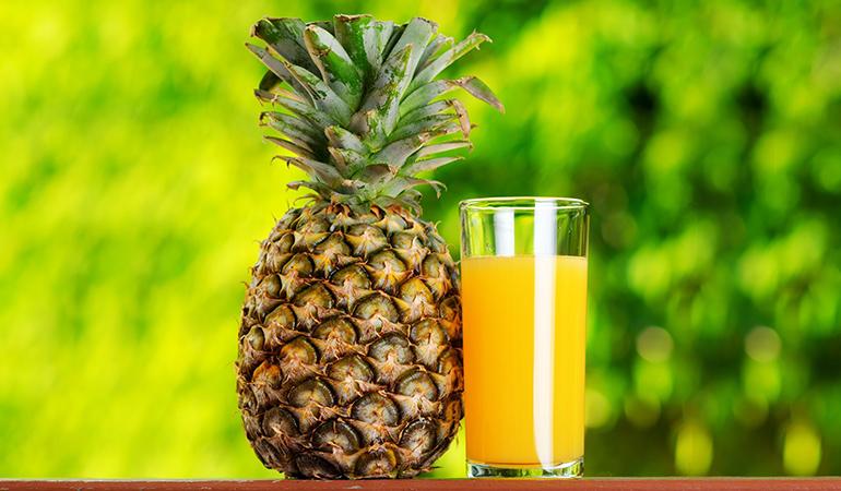 1 cup of pineapple chunks: 78.9 mg of vitamin C (87.7% DV)