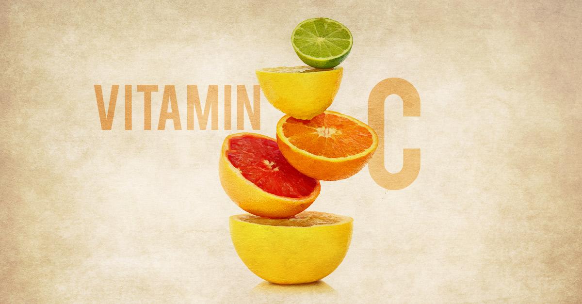 Fruits rich in vitamin C.