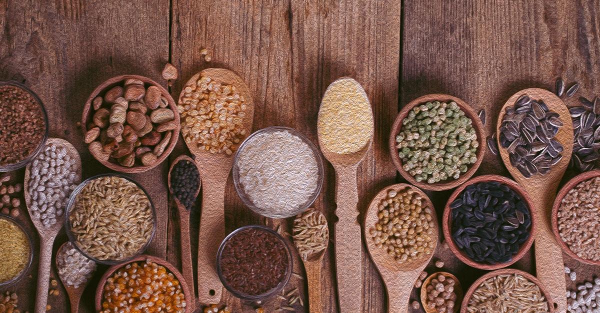 Vanadium-rich food sources.