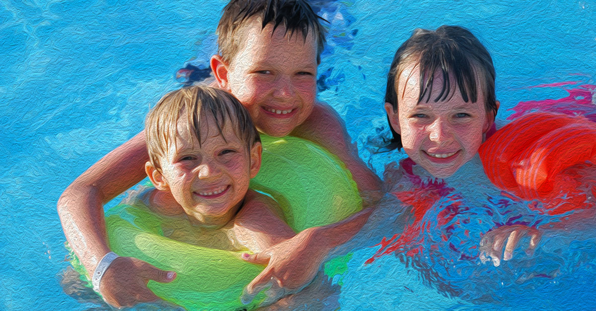 Water safety tips for kids.