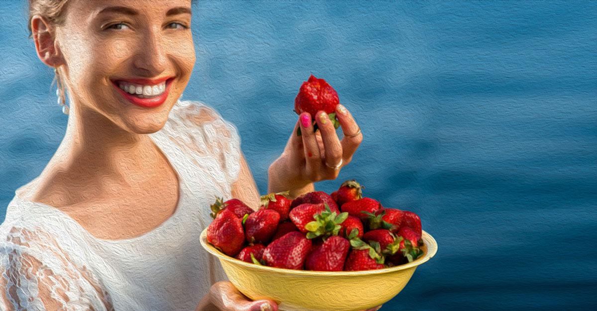 Health benefits of strawberries.