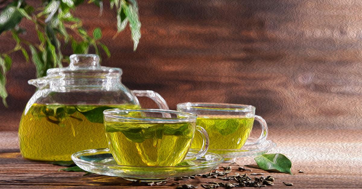 How much caffeine in green tea?