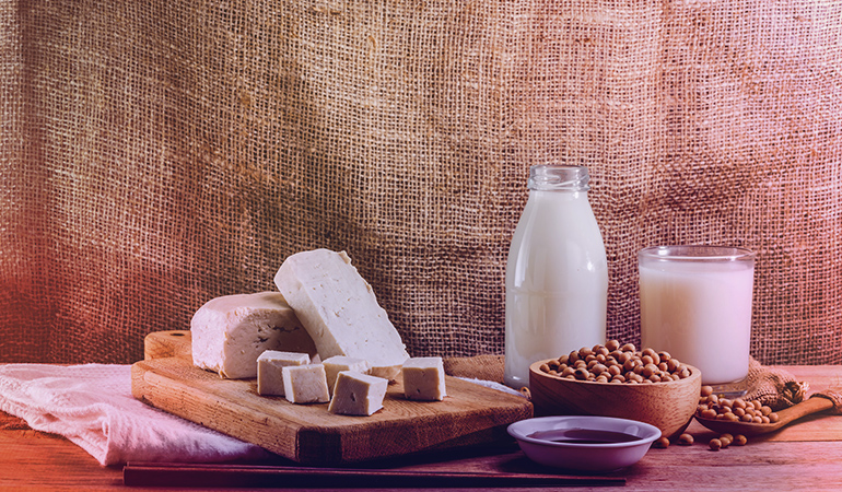Soy can worsen an iodine deficiency and lead to hypothyroidism.