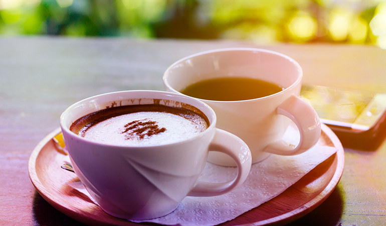 Don't have coffee or tea too soon after your thyroid medicine intake.