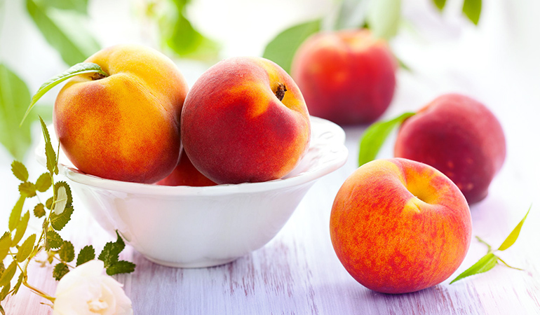A cup of peaches contains 0.78 mg of boron.