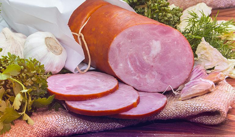 3oz of ham has 5.378 gm of omega 6 fatty acids.
