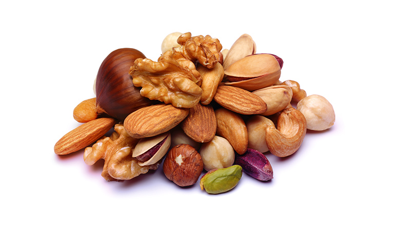 Nuts have a goitrogenic effect.
