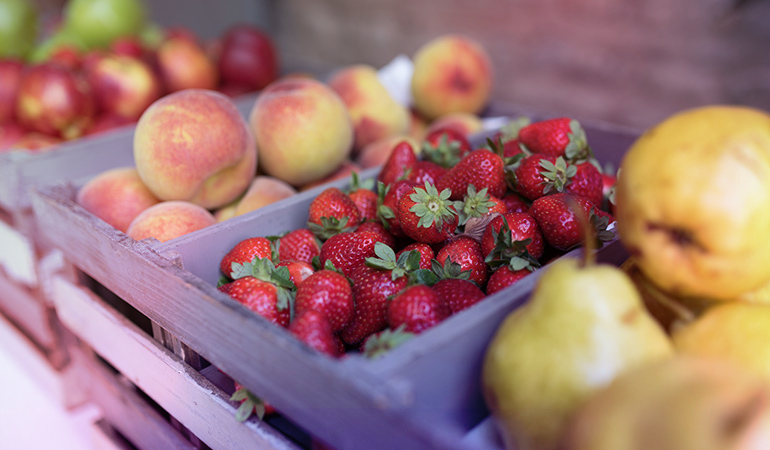Avoid peaches, pears, and strawberries if you have hypothyroidism.