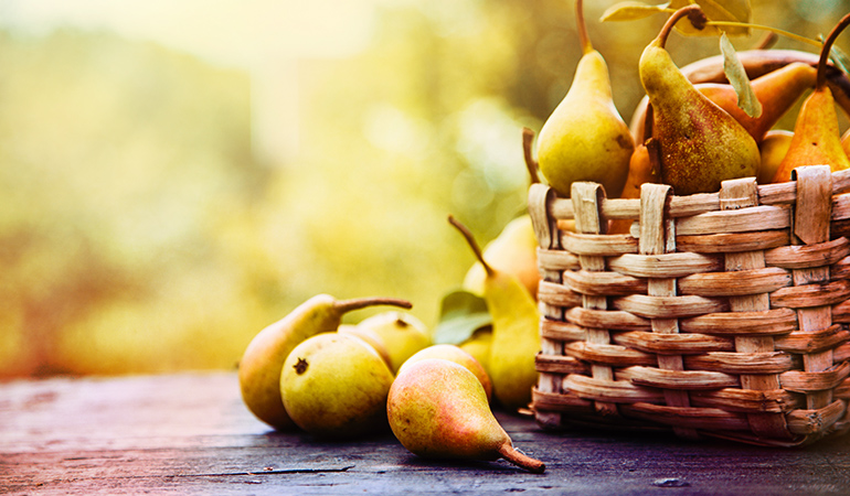 A cup of cubed pears has 0.51 mg of boron.