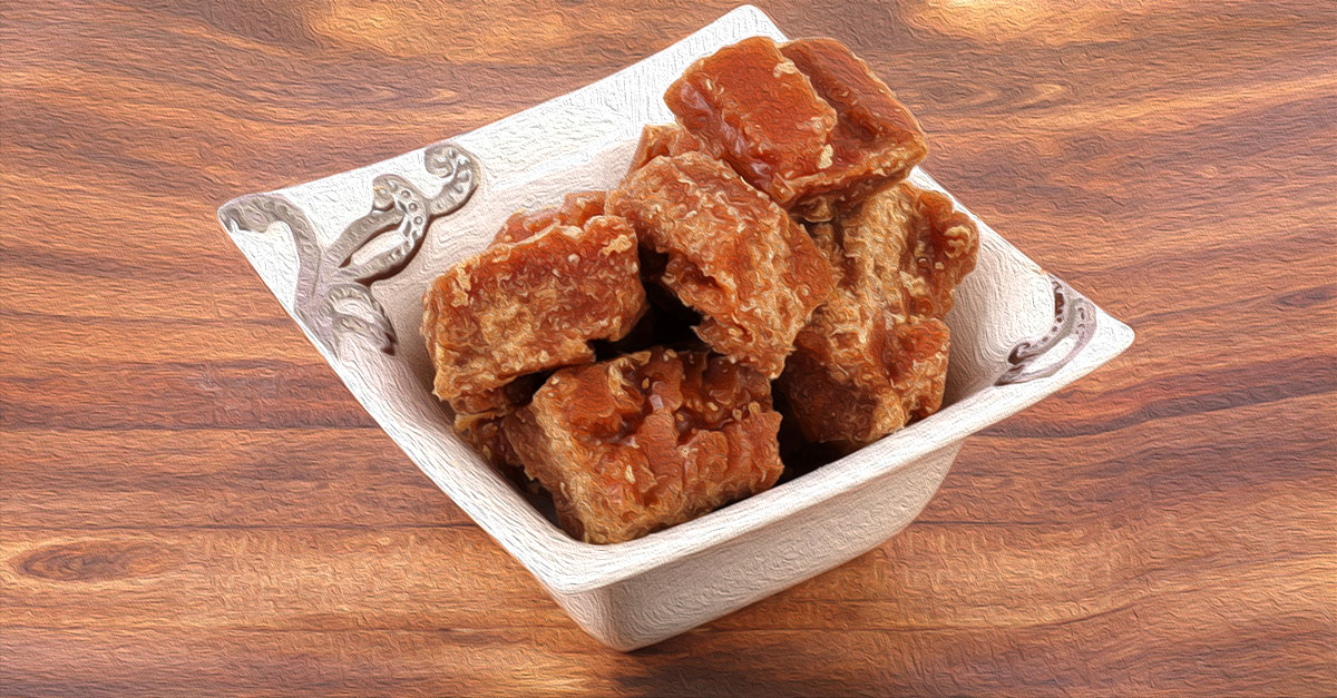 Jaggery can cause weight gain and spike in blood sugar levels.