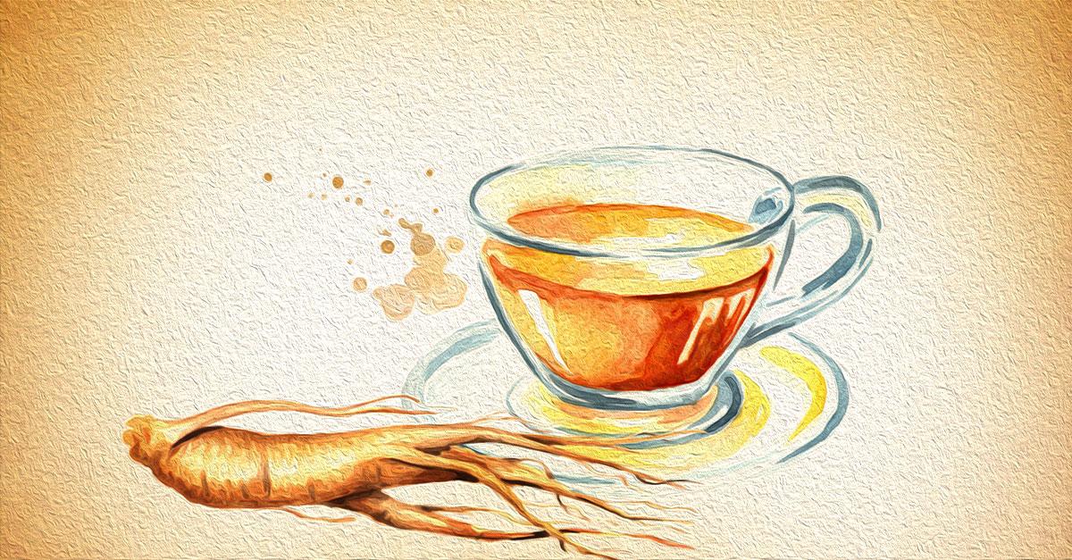 Health benefits of ginseng tea.