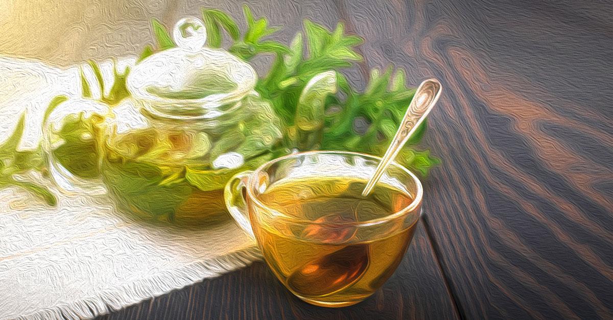 Spearmint tea has many health benefits.