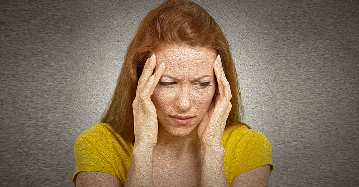 Yoga for migraine relief.