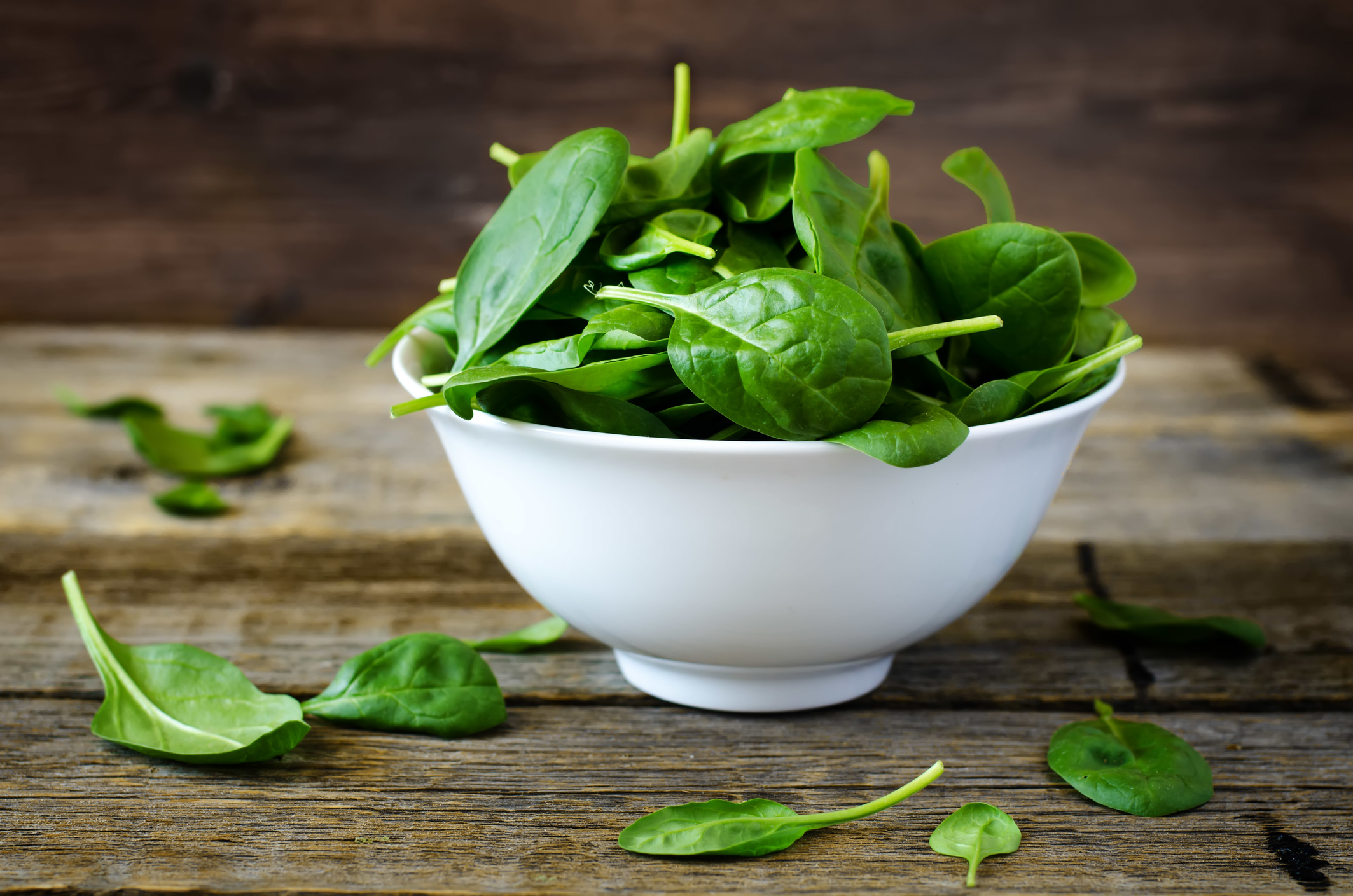 Health benefits of spinach.