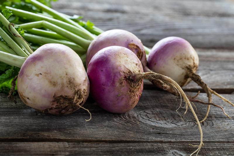 Health benefits of turnips.