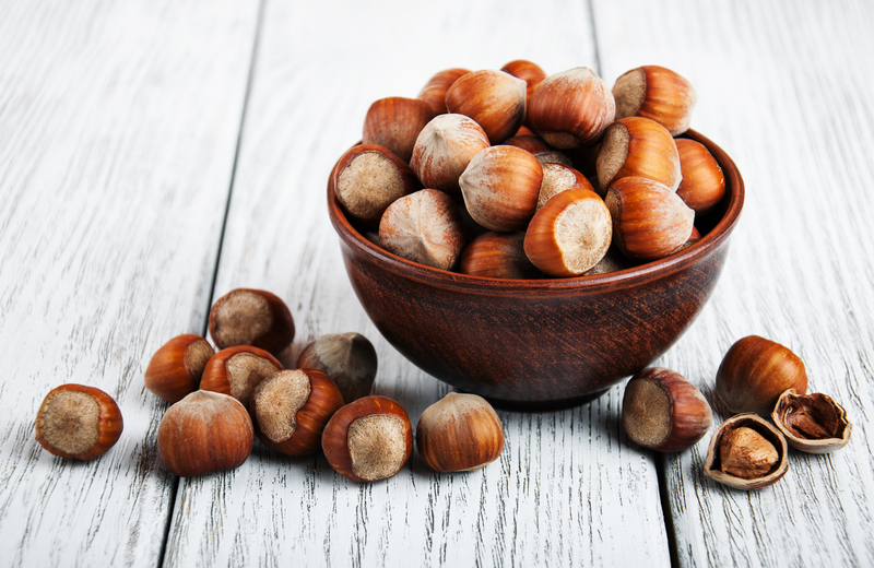 Health benefits of hazelnuts.